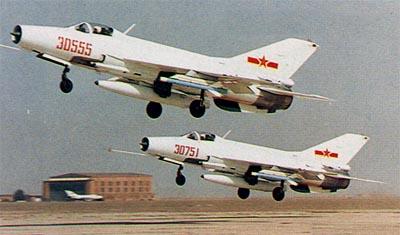 长空雄鹰谱:中国歼-7战斗机主要型号外形识别 - 天使心^_^ - 走向深蓝……