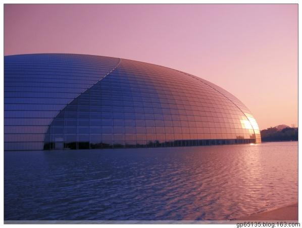 六月荷花建筑摄影《国家大剧院》 - 六月荷花 -  六 月 荷 塘