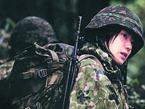 各国女兵的风采 - 探求客时云龙 - 探求优美