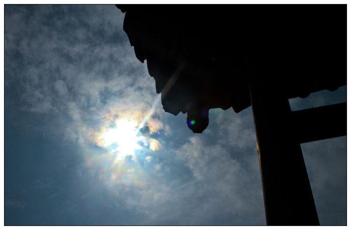 四川好玩  蒙顶山上劫掠神奇的日晕 - 牛筋 - 牛筋的博客