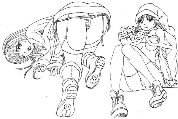 临摹————悲惨的生活 - 大肥肉虫子 - 我喜欢画画漫画...
