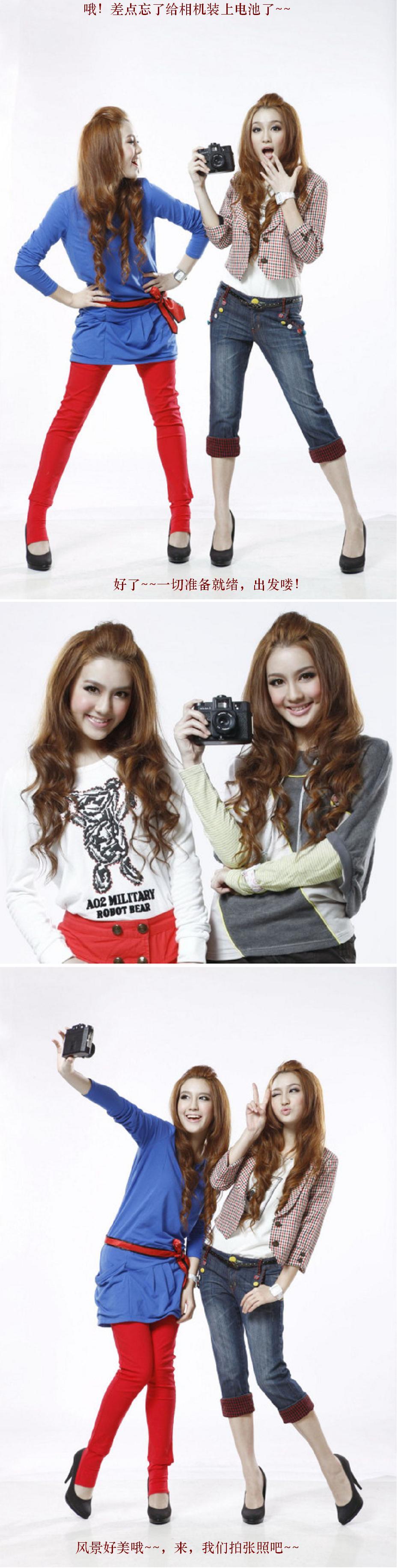 杂交混血双胞胎美女真漂亮美女极品
