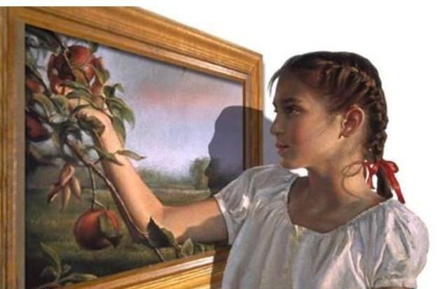 特技艺术名画——从画面里走出来 - 酒鬼鼠 的日志 - 网易博客 - 不老松 - 不老松的博客