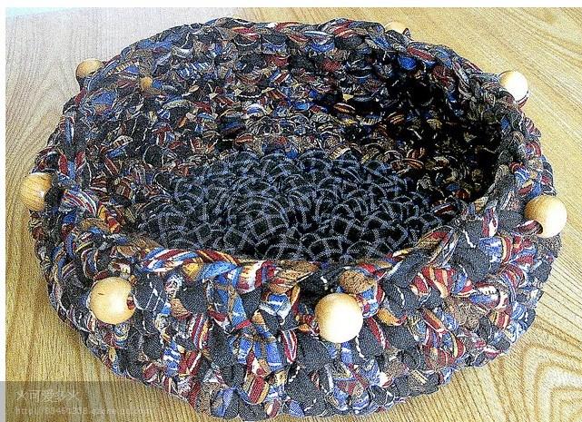 【引用】旧麻花布条的多种编织物(多图鉴赏) - 红叶飘飘的日志 - 网易博客 - 空中浮萍 - 空中浮萍的博客