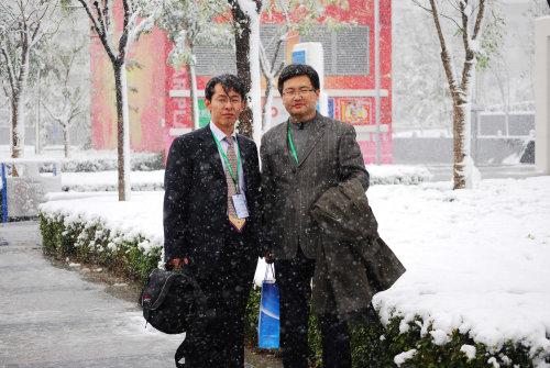 2009年北京的第一场雪来得有点早 - 于清教 - 产业智慧。商业思维。