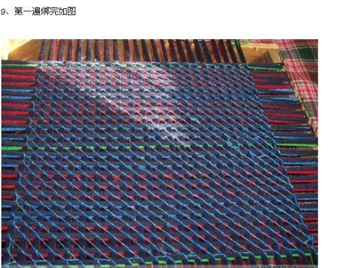 用废毛线制作地垫或坐垫(转) - song-violet - 盘丝洞绒线博客