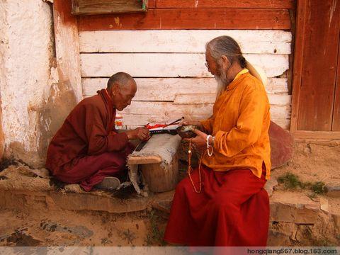 我的川藏行22—深山苦修行的老喇嘛 - 强哥问候 - 强哥问候