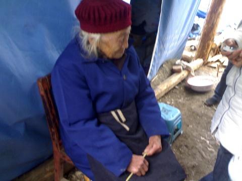 寒冬 志愿者灾区独孤前行走访实录(1) - 勒克儿 - 勒克儿的博客