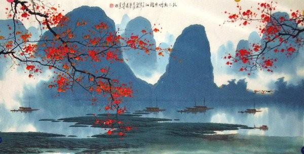(原创)春。(词曲牌拼凑的戏作) - 江河淸澈 - .