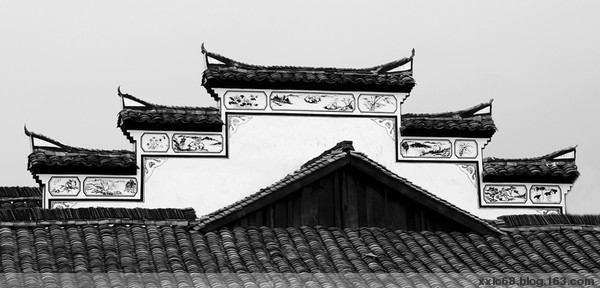 马头墙的分类与构造 - 牧野流星 - 古建筑