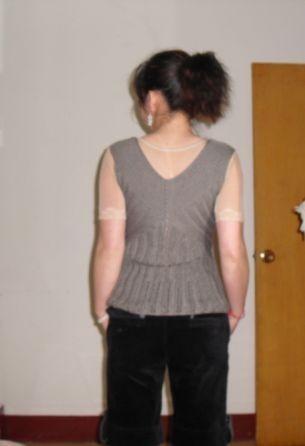 再发时尚背心编织过程 - 芙蓉 - 芙蓉的博客