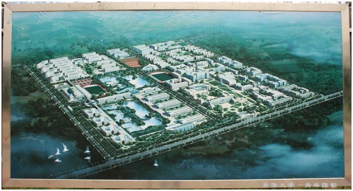 10、校园平面图-引用 原摄 奋进中的青海大学
