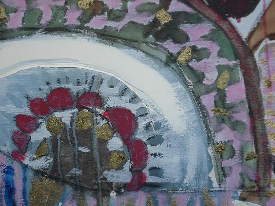 《与鱼喻NO。2〉油画——修改后 - 会笑的蜻蜓 - 会笑的蜻蜓