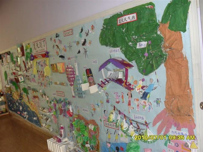幼儿园主题墙设计