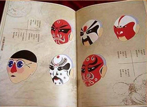 一个人和1000张手绘京剧脸谱 - 杨曦沦 - 杨曦沦的博客