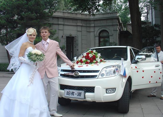 欧式婚车副车装饰图片大全