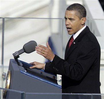 奥巴马就职演讲全文:凝聚力量 重塑美国(转) - wzs325 - 王志顺