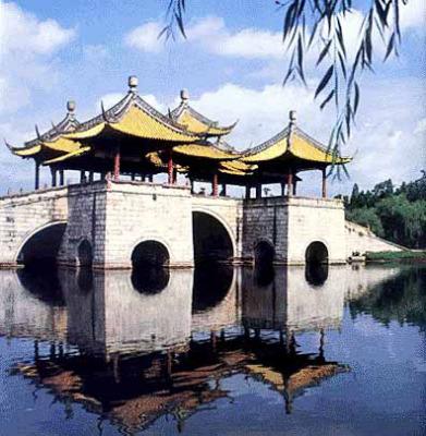 【原创】中国古桥赞 ---- 6 (诗配照) - 灵飞 - 灵飞家园