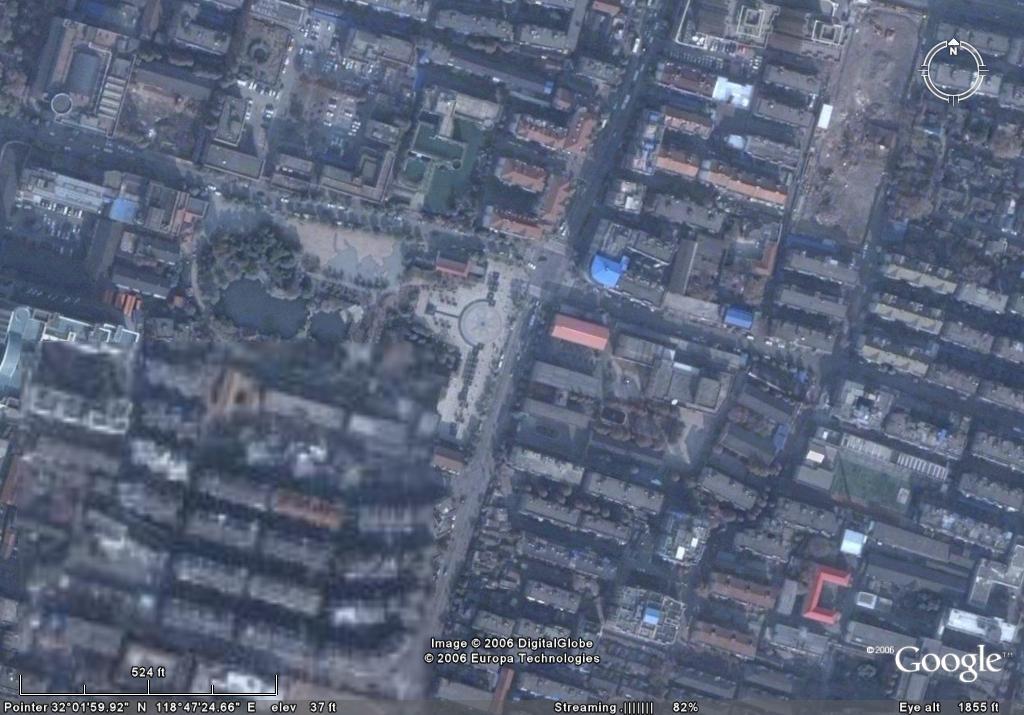 google earth看世界 - 窗外 - lengyuefengzhu 的博客