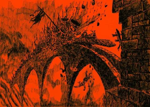 进攻 - 七彩城堡少儿美术工作室 - 七彩城堡