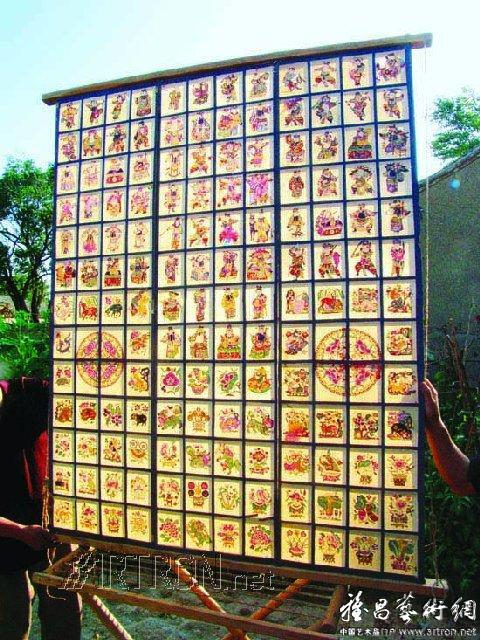 民间艺术的奇葩--河北蔚县剪纸[民间艺术] - 17898ff - 17898ff欢迎您