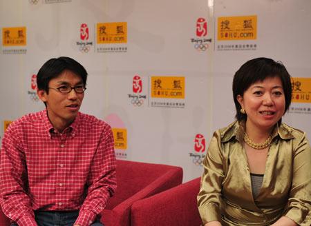 北大客座教授栾轶玫博士和沃华传媒网创始人黄华做客搜狐