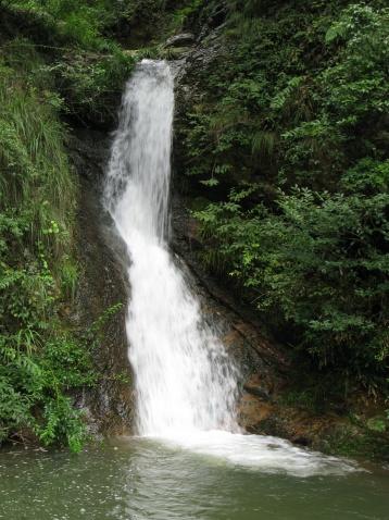 天姥山瀑布(新昌的瀑布之四) - 江村一老头 - 江村一老头的茅草屋
