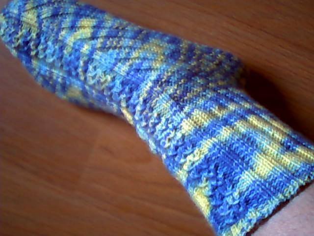 我的毛线袜子_编织人生论坛