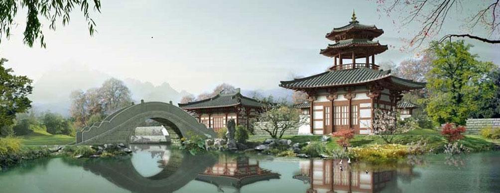 中国经典散文欣赏专版 - 山间溪流 -    山间溪流的休闲屋