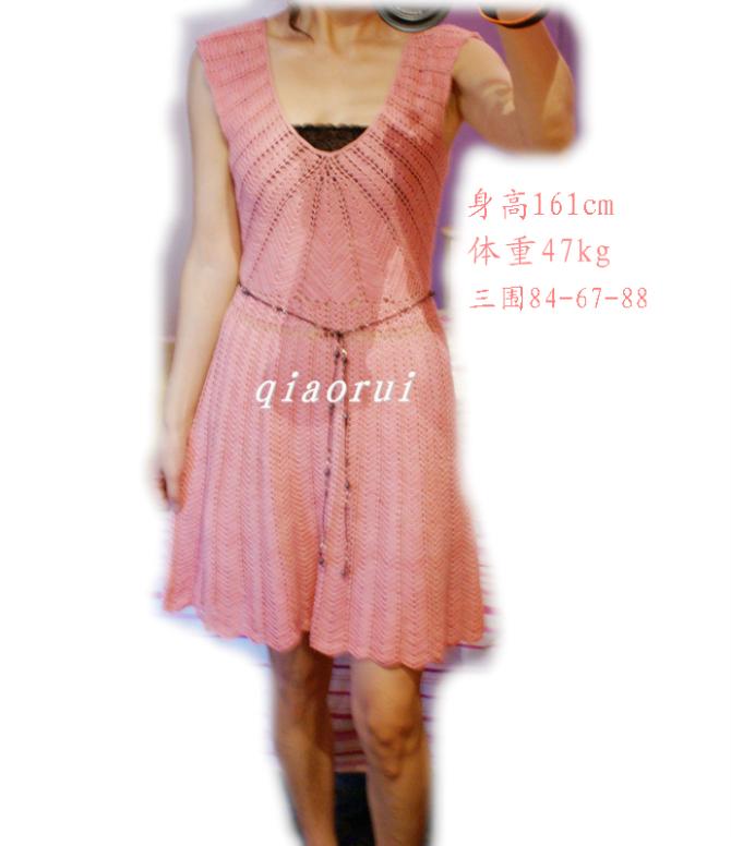 看衣仿衣~棕榈树之恋~钩针连衣裙 - bird-sj - 夏天的云