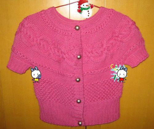 转载:玫红色的短袖衫 - 停留 - 停留编织博客