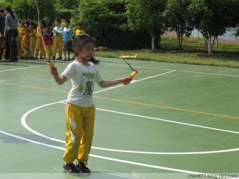 书生五月——跳绳比赛 - 落落 - 三(2) 我们的阳光小屋