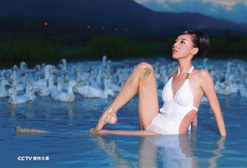组图:cctv模特大赛2009年泳装月历写真_海南_新闻_腾讯网