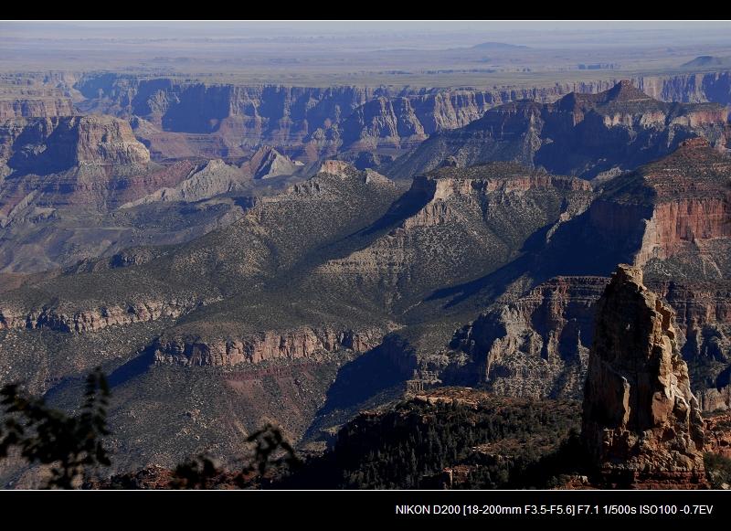 终于进入科罗拉多大峡谷 - 西樱 - 走马观景
