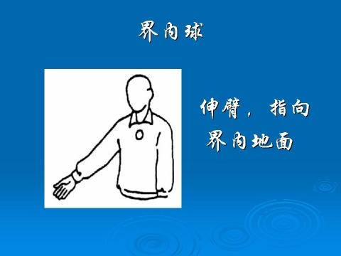 排球裁判员法定手势 组图