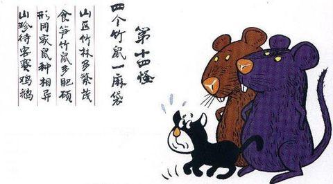 """漫画云南十八怪 - dingzhaoping -  伤而未残之  """"无 胆 英 雄"""""""