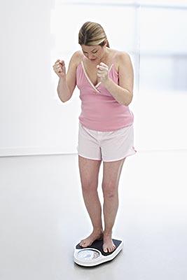 机体代谢率下降导致体重增长