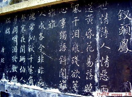 陆游沈园诗词