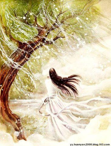 雪之梦 - 陌上纤尘 - 陌上花开,飘飘纤尘