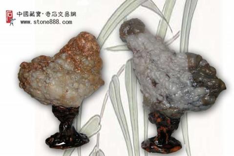 原创 (奇石欣赏)精美的石头会说话(二) - 鹰天元博藏    - ★鹰天元博藏★