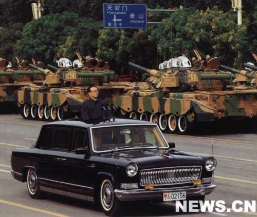 十三次国庆阅兵中的阅兵首长是谁? - 阿德 - 图说北京(阿德摄影)BLOG