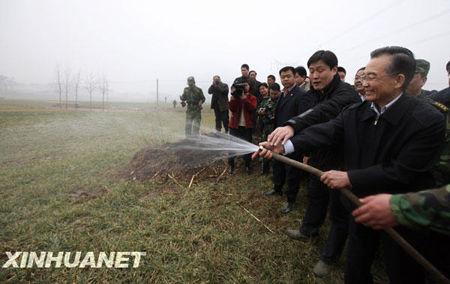 原创温总理不浇水,中国人吃饭否? - 何足道 - 何足道的博客