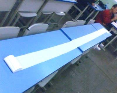 女大学生自习用卫生巾占位 同学留纸条有个性 - 光流 - 一纸空文