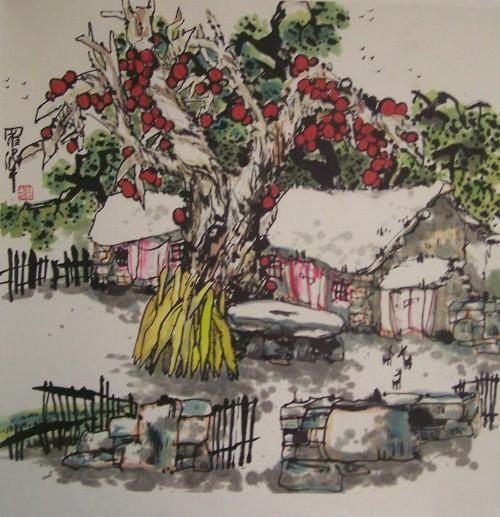 乡村记忆系列(六)2007/12/06 - 书画家罗伟 - 书画家罗伟的博客