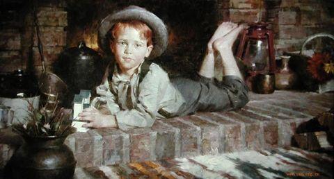 美国现代著名画家威特肯 - 粉画家吴锡安(亚亚) - 粉画家吴锡安(亚亚)