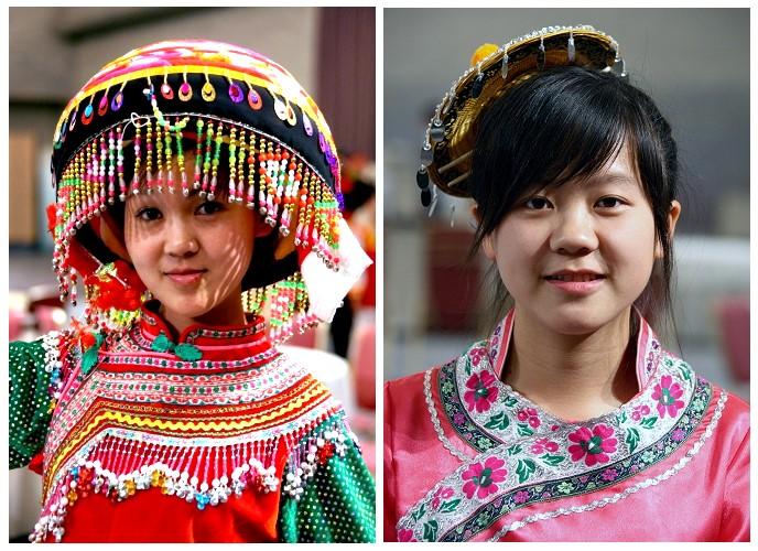 中秋节,56个民族大团圆大合影