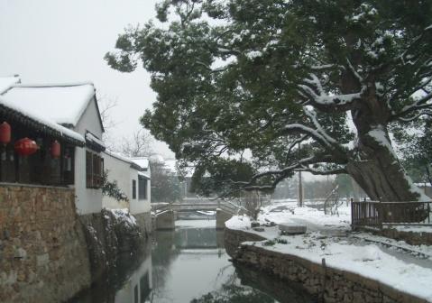 明月湾的冬天 - qinweiping1956 - 吴中山人家