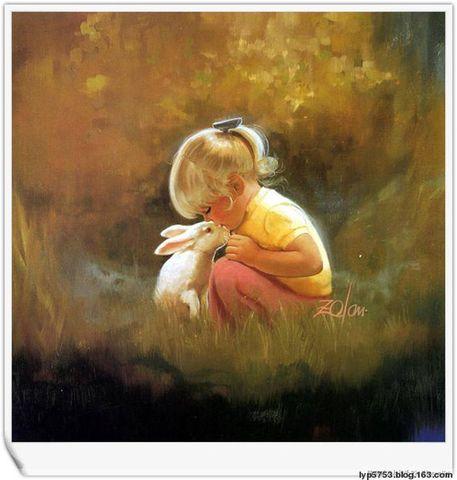 法国画家(Donald  Zolan)笔下的天使 - 龙磐天下 - 龙磐天下博客