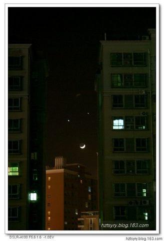 难得一见的神奇天象——双星拱月 - 汝裕有约 -