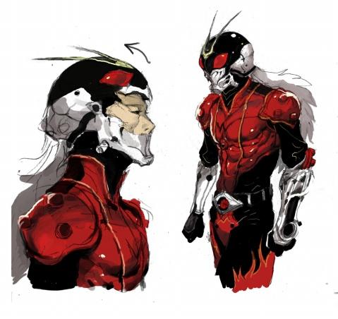 我想画超人漫画... - h.jw1983 - 蒙面超人RX
